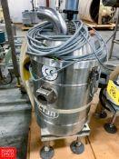 CFM S/S Vacuum Model 15036X, S/N 18E884