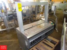 Saturn Strapping Systems Mdl. SA-330 Arch Style Plastic Strapping Machine Rigging Fee: $ 50
