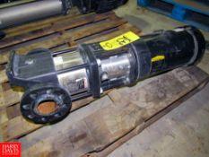 Grundfos Mdl. A96126733P115210398 Multi-Stage Pressure Booster Pump, 3 h.p., Type CR10-04A-CJ-A-E-