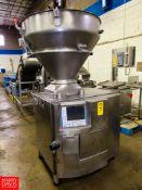 Handtmann Mdl. VF630 Vacuum Stuffer, Ser. #15254, Mfg. 2002, no rotors, no vacuum pump,