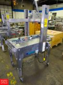 Interpack Mdl. USA2024BBSS Stainless Steel Portable Case Sealer, Ser. #F03T039002