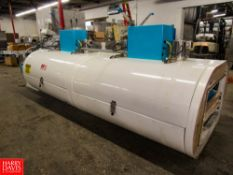 """Ultra Freeze Mdl. 1.55.003.30.4.VS.CO2 Cryogenic Freeze Tunnel, (2) Sections 32"""" W X 11' L"""