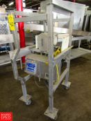 """Safeline Inline Metal Detector, 5"""" Dia. Aperture, On S/S Stand, With Push Button Controls, and"""