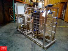 NEW Sondex Thermaline 10 GPM Pasteurization Skid Including S/S Frame Plate Heat Exchanger, S/S