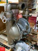 Wilden PX15 S/S Diaphragm Pump Location: Hayward , CA