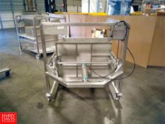 Tecnal Horizontal S/S Cheese Press, Portable Location: Hayward , CA