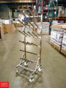 S/S Portable Food Tray Racks Location: Hayward , CA