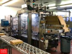 Oystar A+F Wrap Around Robotic Case Packaging Machine Location: Portland ,