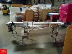 8' Portable Conveyor, with Lenze AC Tech Speed Controller Location: Hayward , CA