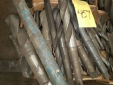 { Choice of lots: 455, 457, 458 } TAPER SHANK DRILLS