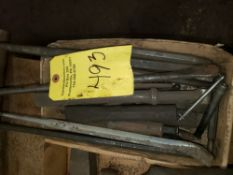 { Choice of lots: 493, 495, 496 } CHISELS AND PUNCHES, LOT
