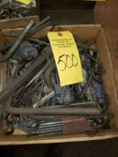 { Group of lots: 499, 500 } ALLEN WRENCHES, LOT