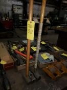 3 SLEDGE HAMMERS,ONE WITHOUT HANDLE