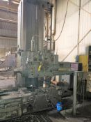 "G&L 350-T HORZ BORING MILL TABLE TYPE SN 150-108-56, 7.5-975 RPM SPINDLE SPEED, 5"" SPINDLE, #5 MORSE"