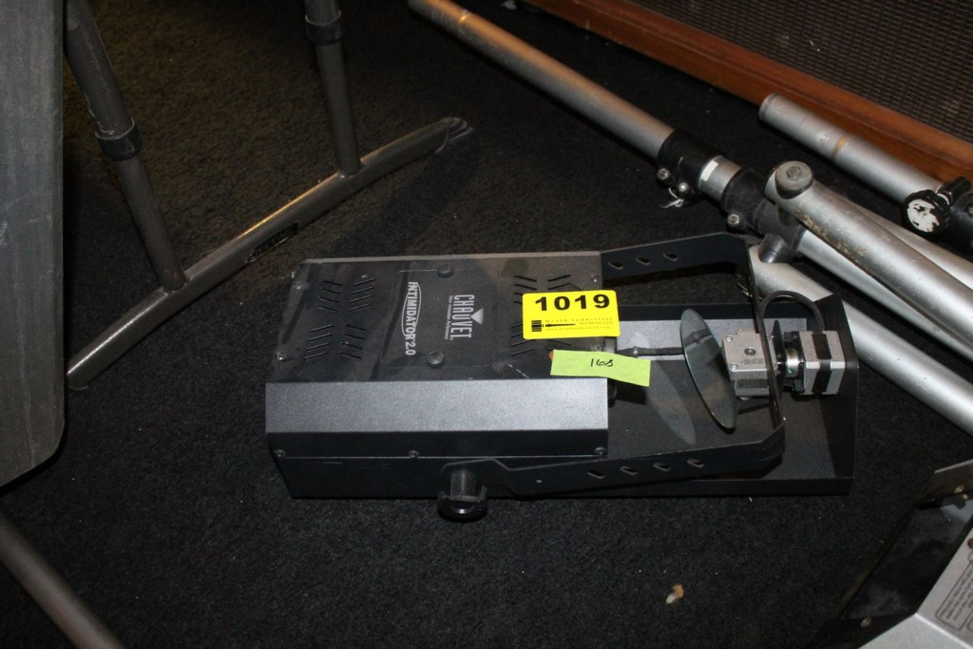 Lot 1019 - CHAUVET MODEL INTIMIDATOR 2.0 5 CHANNEL DMX INTELLIGENT SCANNER