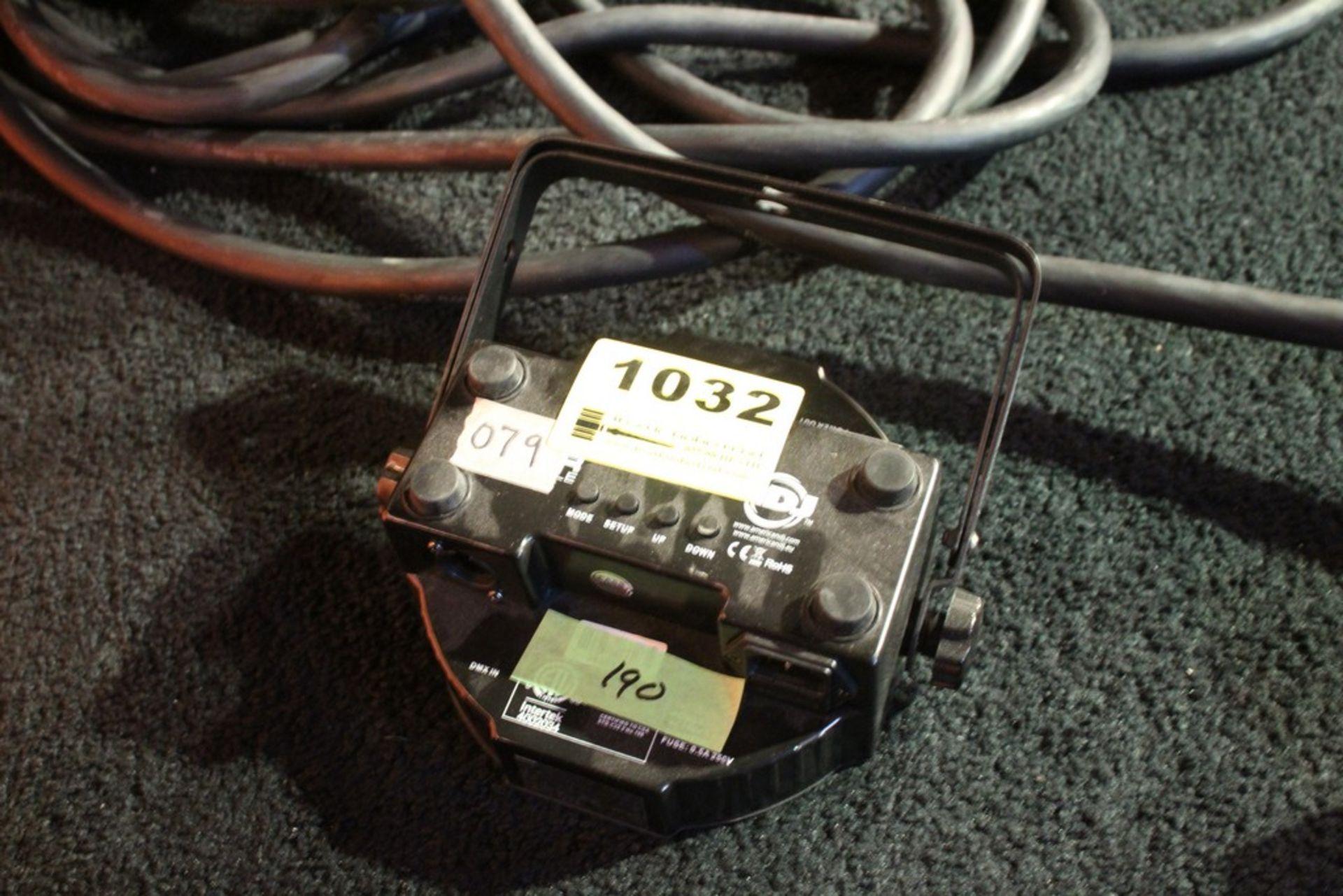 Lot 1032 - AMERICAN DJ MODEL MEGA PAR PROFILE DMX RGB LED LIGHT