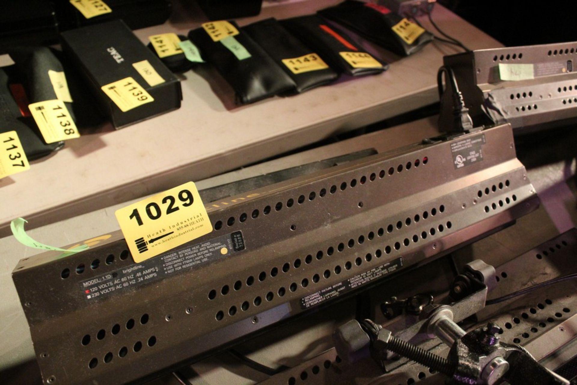 Lot 1029 - BRIGHTLINE MODEL 1.1D 10 AMP STAGE LIGHT SERIES 1 DMX LIGHT