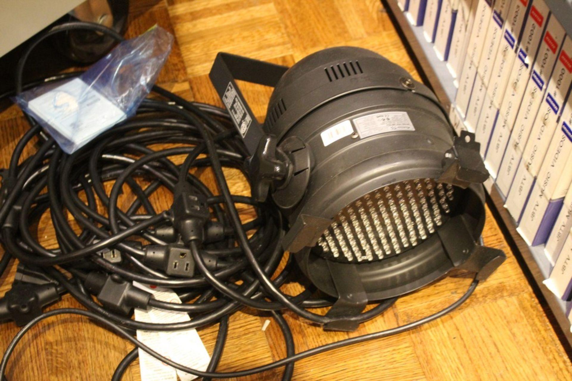 Lot 1009 - AMERICAN DJ MODEL P64 PROFESSIONAL CAN DMX LED LIGHT