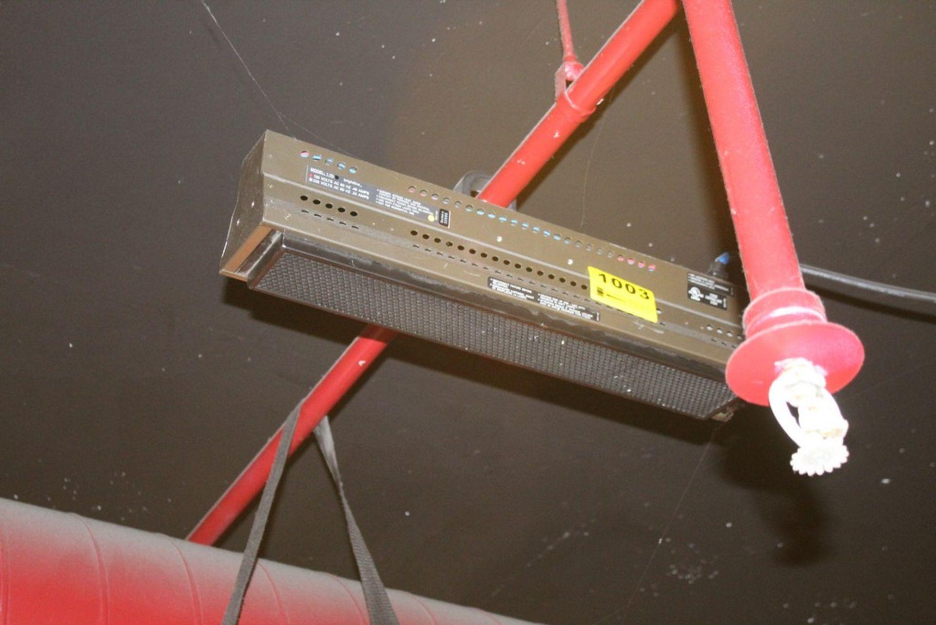 Lot 1003 - BRIGHTLINE MODEL 1.2D 10 AMP STAGE LIGHT SERIES 1 DMX LIGHT