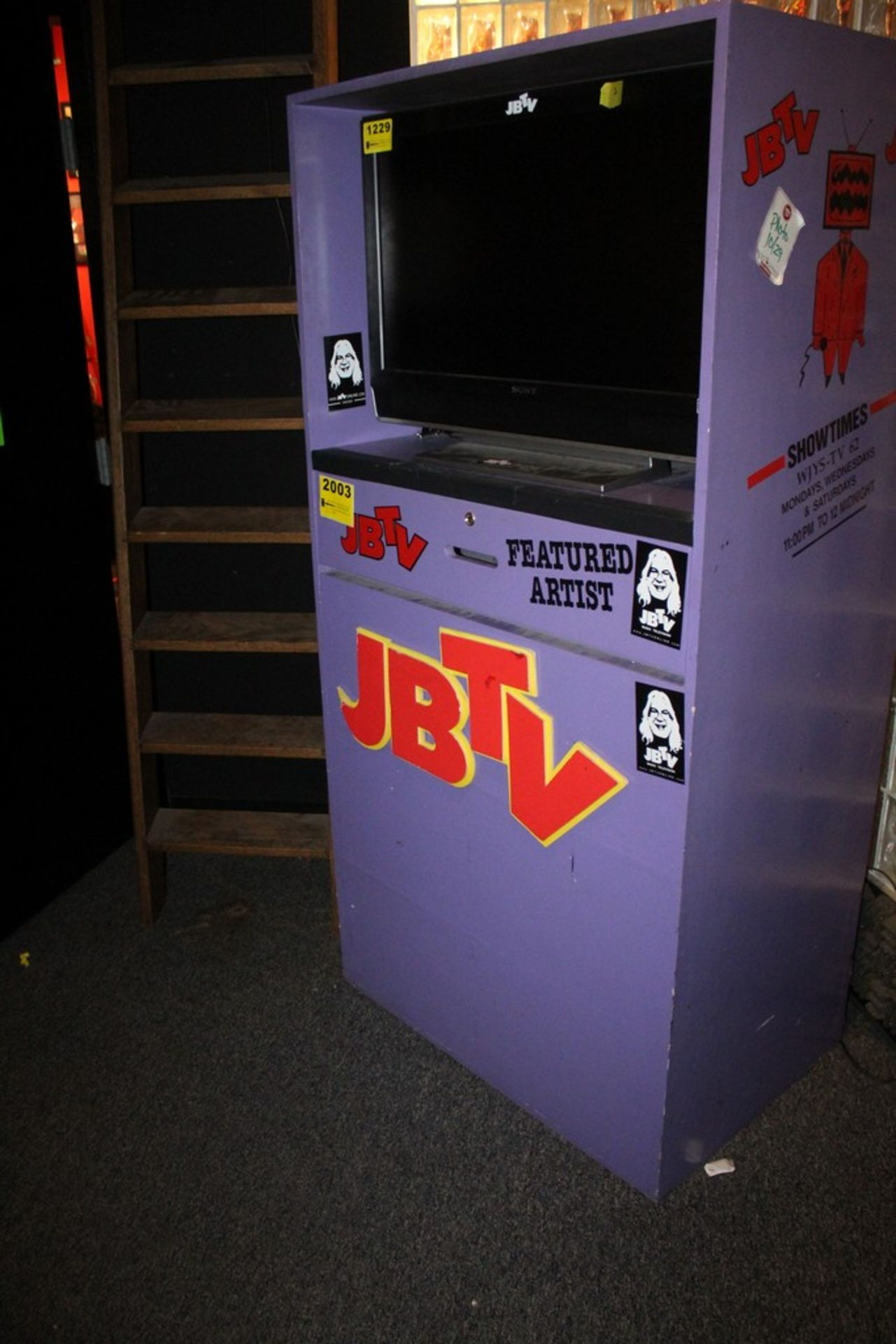 Lot 2003 - JBTV Custom Entertainment Center