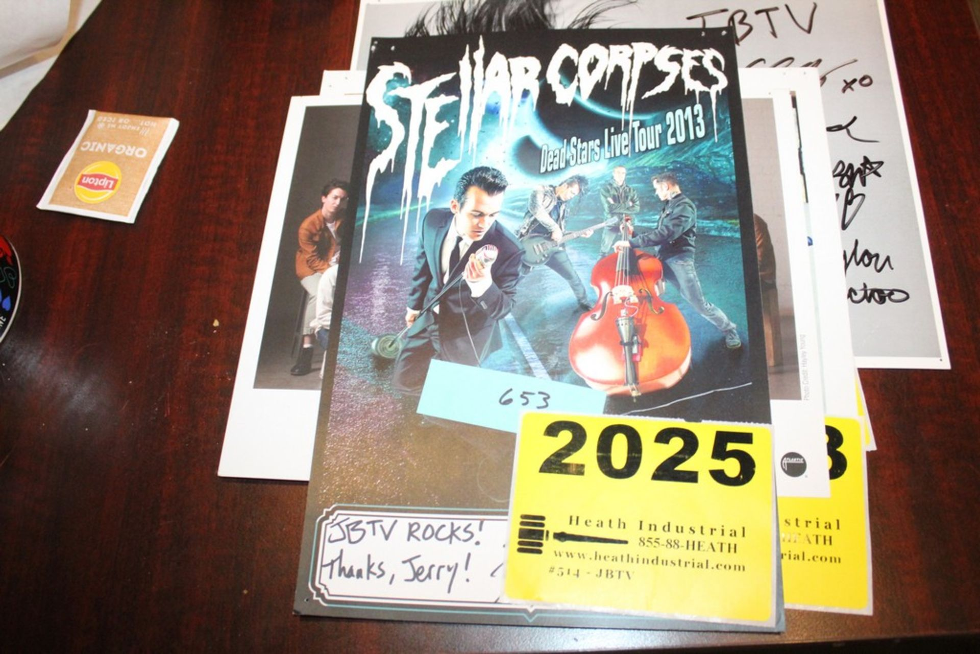Lot 2025 - Stellar Corpses Signed Small Poster