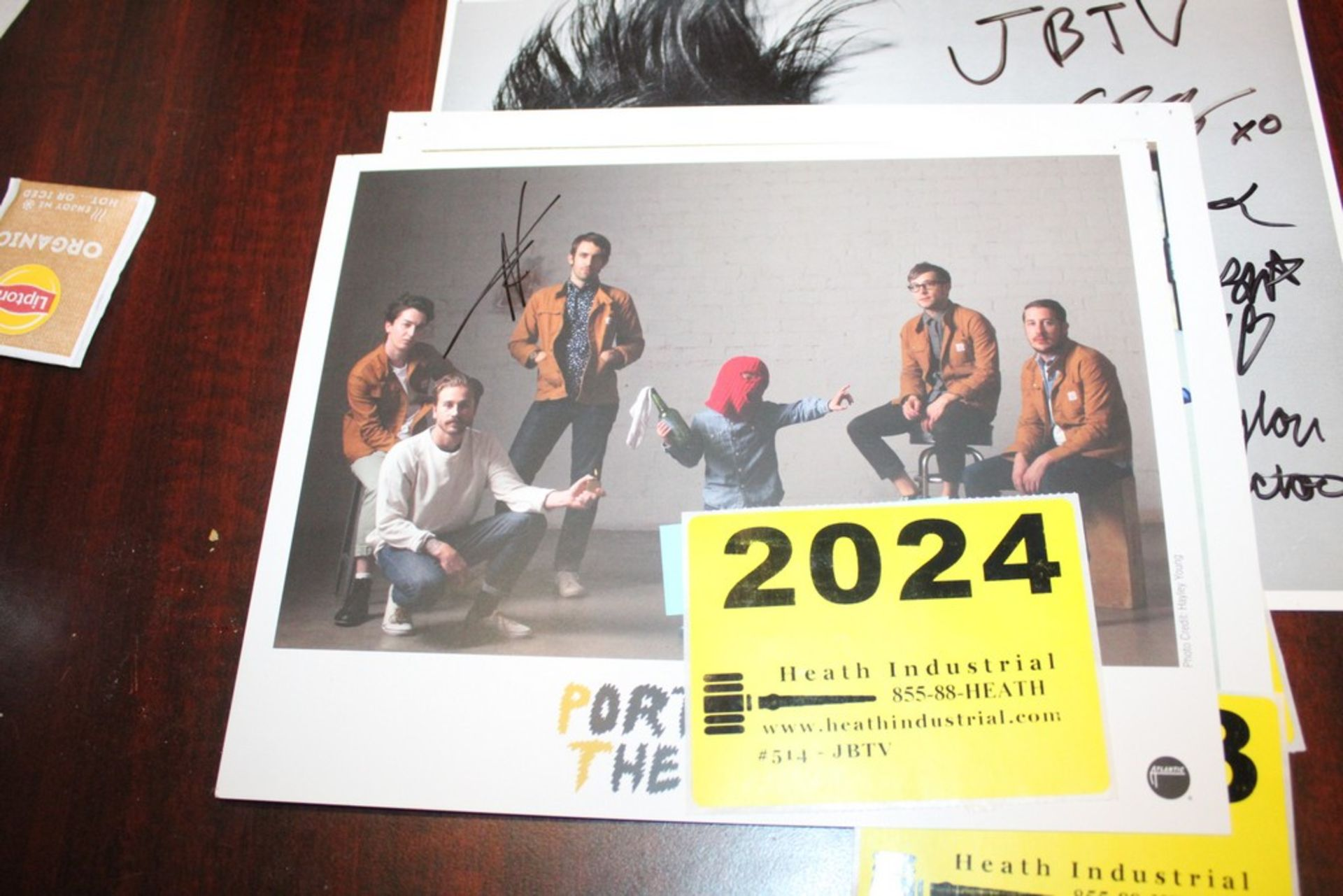 Lot 2024 - Portugal the Man Signed Photo