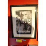 Ours Precious Signed Framed Poster