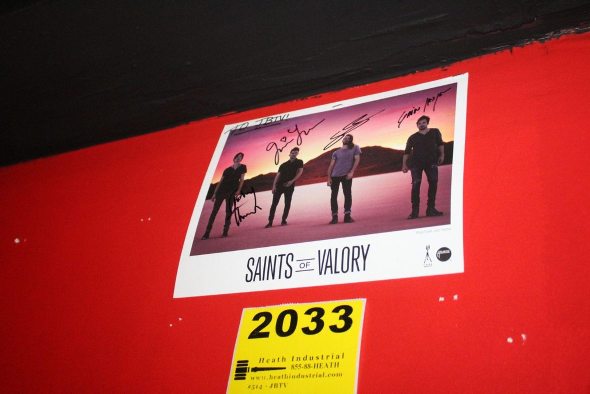 Lot 2033 - Saints of Valory Signed Photo
