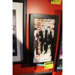 Woolworthy Signed Framed Poster