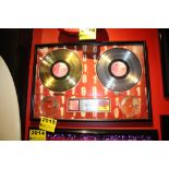 Bush 6Teen Stone Platinum Record Commemerative Display