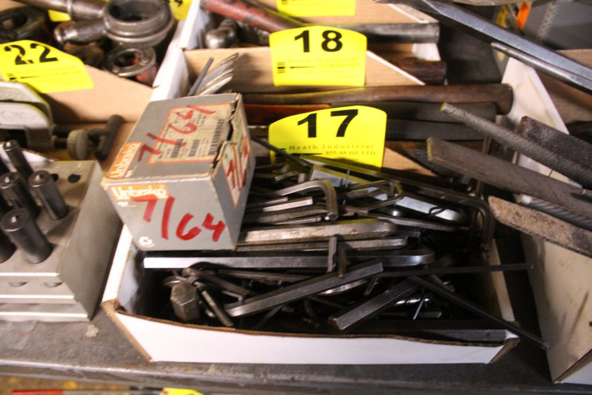 Lot 17 - LARGE QTY OF NEW ALLEN WRENCHES