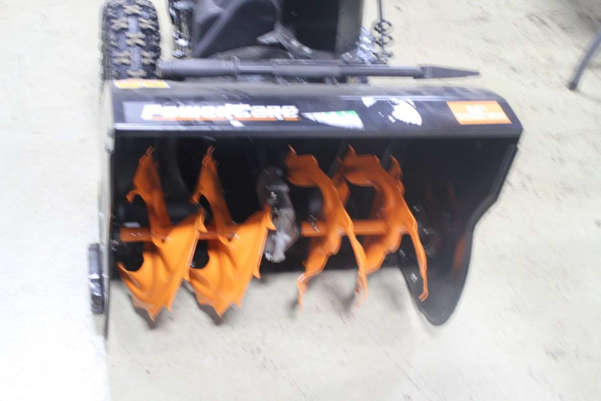 """Lot 362 - POWER CARE 24"""" TWO STAGE GAS SNOW BLOWER, MODEL 1004410363, WITH 208CC GAS ENGINE, TWO-STAGE, 24"""""""
