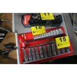 "HUSKY 13-PIECE EXTERNAL TORX SOCKET SET, 1/4"", 3/8"" & 1/2"" DRIVE, MODEL 1001-381-073, WITH SOCKET"