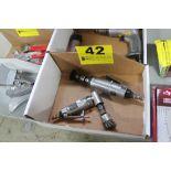 (2) PNEUMATIC DIE GRINDERS IN BOX