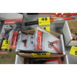 ASSORTED CRESCENT PRECISION WIRE CUTTERS AND PLIERS