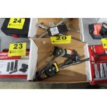 """(2) HUSKY 3/8"""" DRIVE RATCHET WRENCHES AND (2) 1/2"""" DRIVE SWIVEL ADAPTERS"""