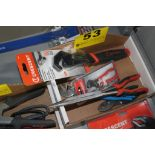 ASSORTED HAND TOOLS IN BOX