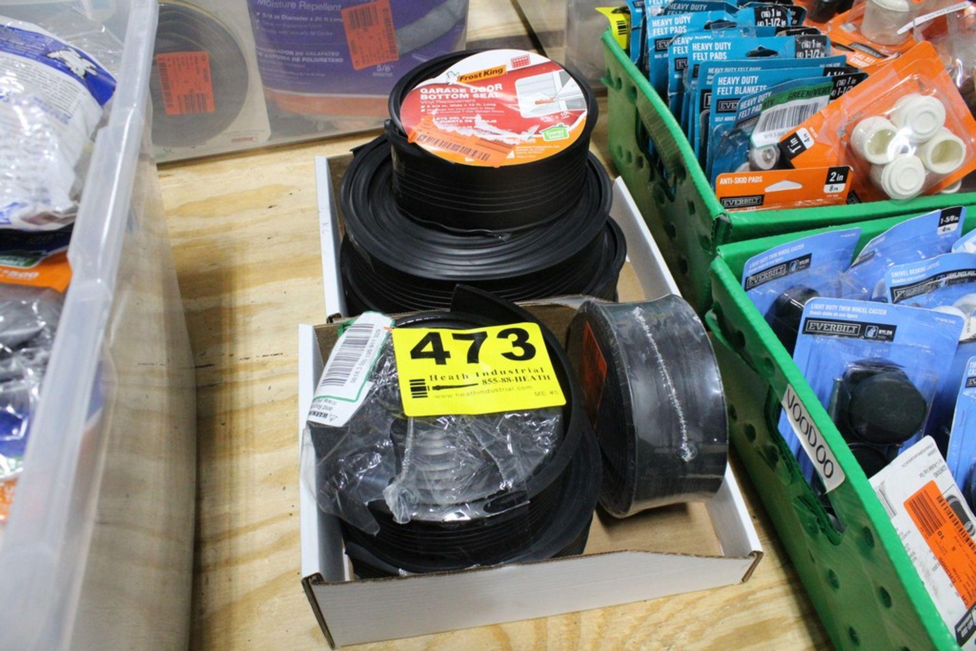 Lot 473 - ASSORTED GARAGE DOOR BOTTOM SEALER PADS IN BOX