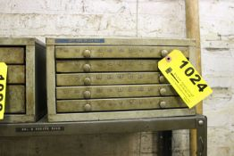HUOT FIVE DRAWER NUMBER DRILL CABINET