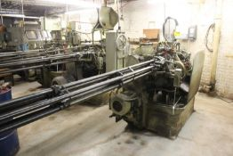 "DAVENPORT 3/4"" 5 SPINDLE MODEL B AUTOMATIC SCREW MACHINE, S/N 10794, THREAD ROLLING, PICK-OFF,"