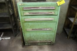 STANLEY VIDMAR FIVE DRAWER TOOL CABINET