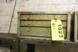 HUOT THREE DRAWER LETTER DRILL CABINET