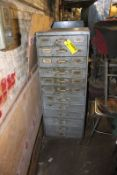 TWELVE DRAWER HEAVY DUTY STORAGE CABINET
