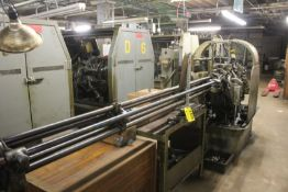 "DAVENPORT 3/4"" 5 SPINDLE MODEL B AUTOMATIC SCREW MACHINE, S/N 10196, DEBURRING, PICK-UP, TAPPING,"