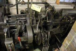 "DAVENPORT 3/4"" 5 SPINDLE MODEL B AUTOMATIC SCREW MACHINE, S/N 10425"