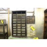 (3) ASSORTED SMALL PARTS CABINETS