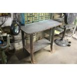 """36""""x24""""x34"""" WORKBENCH WITH ARTICULATING ARM INSPECTION LAMP"""