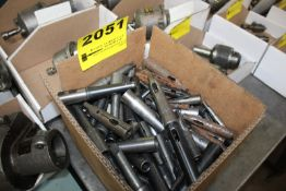 LARGE QUANTITY OF TAPER SHANK DRILL SLEEVES