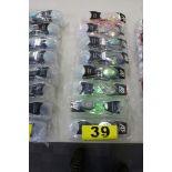 (8) A3 PERFORMANCE ANTI-FOG UV SWIMMING GOOGLES, (3) AVENGER & (5) FUSE