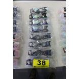 (8) A3 PERFORMANCE ANTI-FOG UV SWIMMING GOOGLES, (4) AVENGER & (4) FUSE